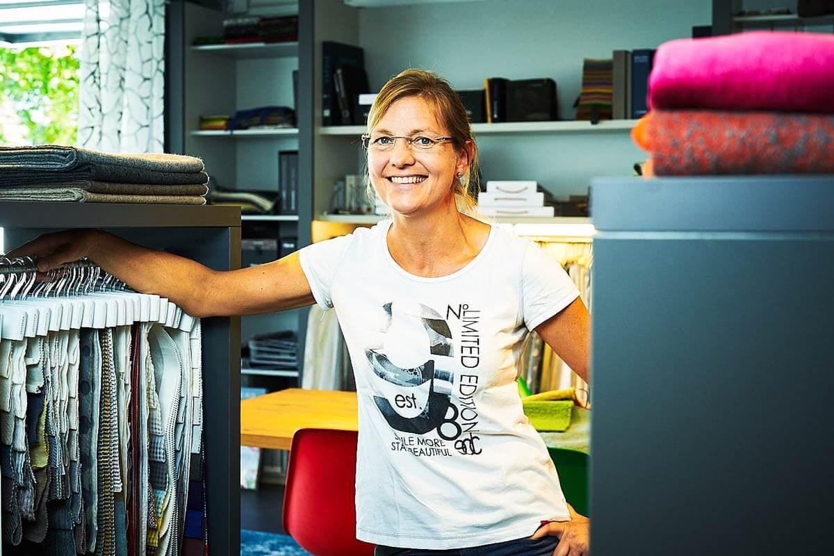 Christa Drechsel - Textile Vorhangdekorationen