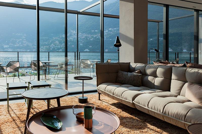 Moderne und hochwertige Wohnzimmereinrichtungen von B&B