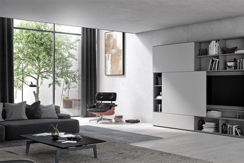 Hochwertige Ausstattung fir das Wohnzimmer von interlübke