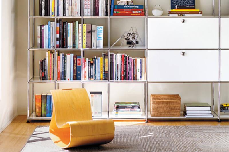 Stylische Wohnzimmereinrichtung von USM