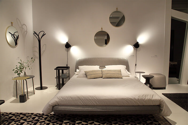schlafzimmer bett von ligne roset bei schatz schoener wohnen tuttlingen