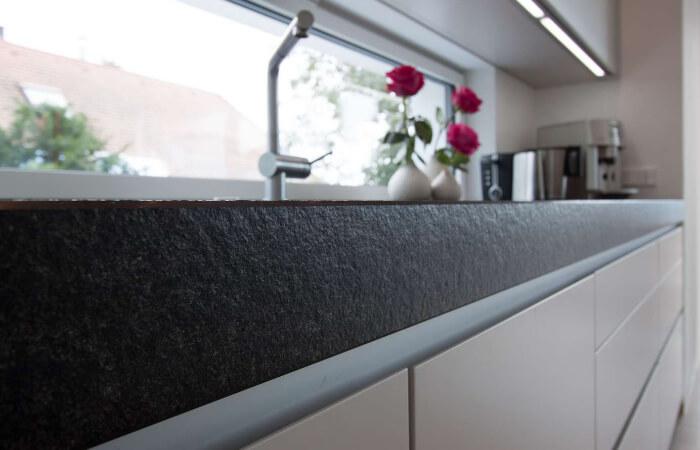 Küchenplatte mit Detail